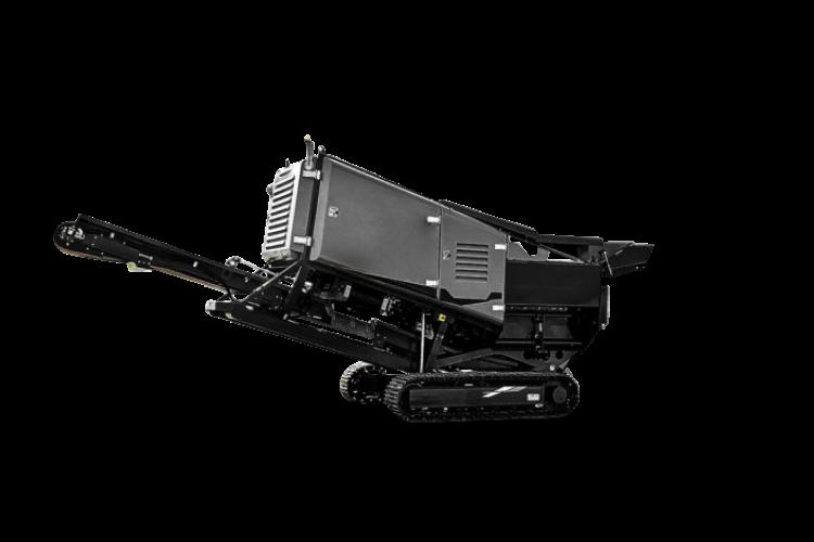 Tracked Mobile Shredder