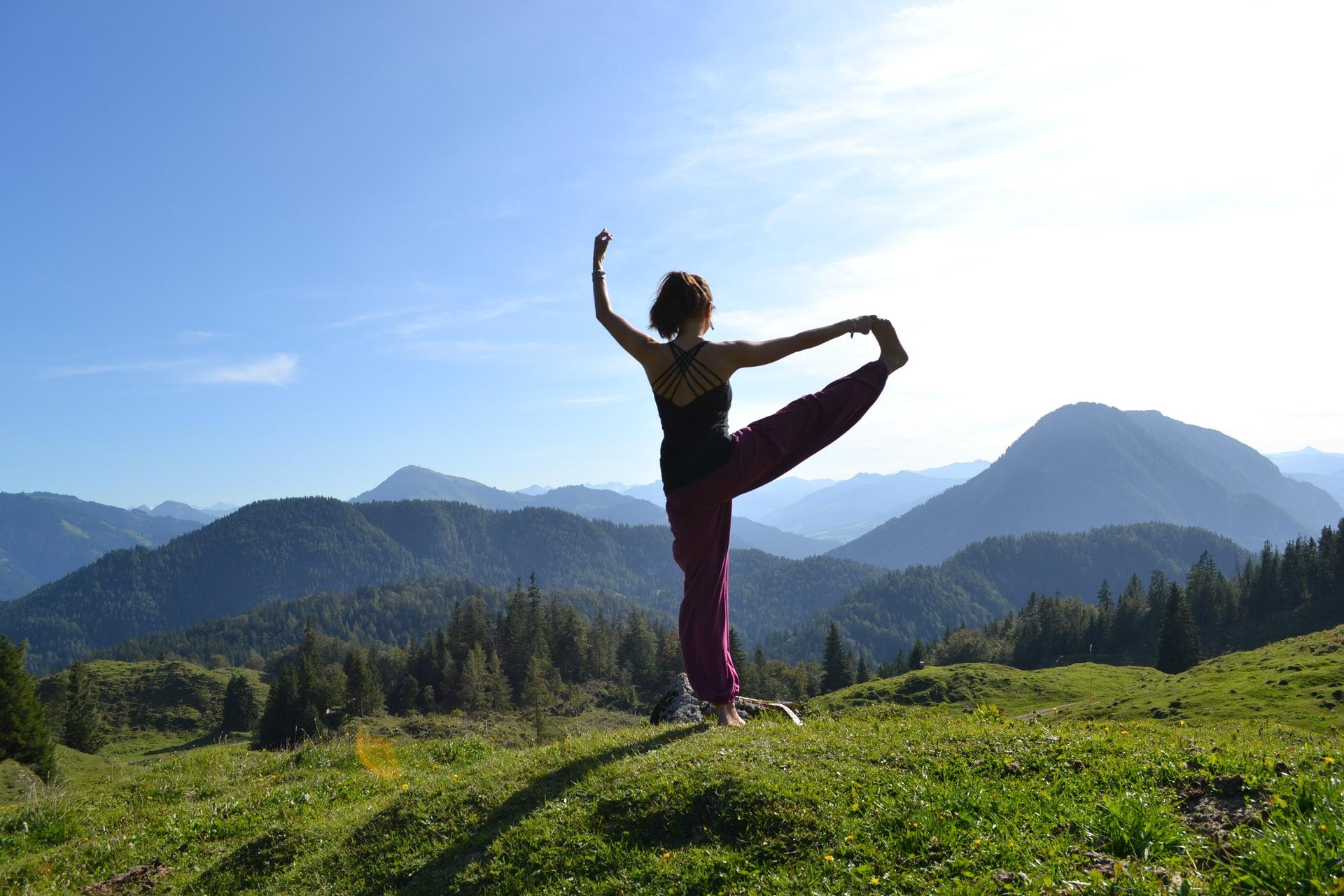 Yoga in den 4 Tälern in der Schweiz