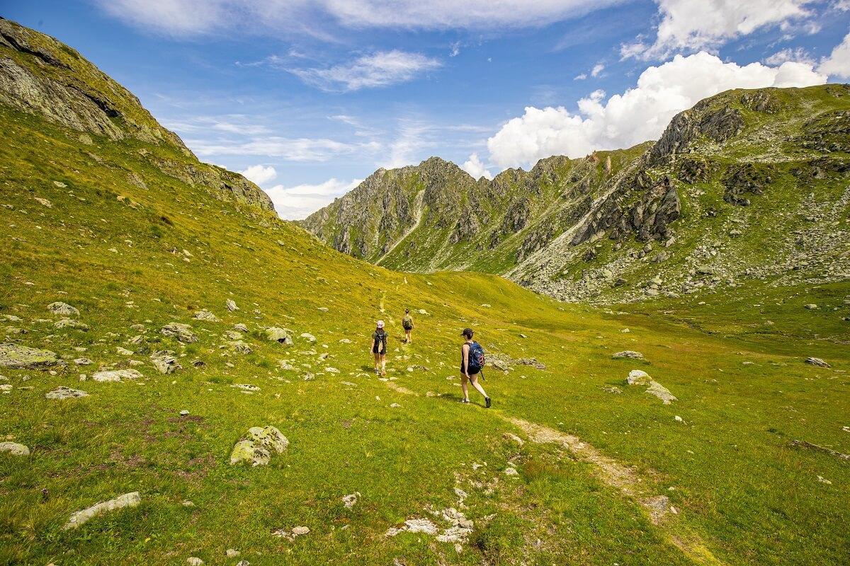 Wandern im 4-Täler-Gebiet in der Schweiz