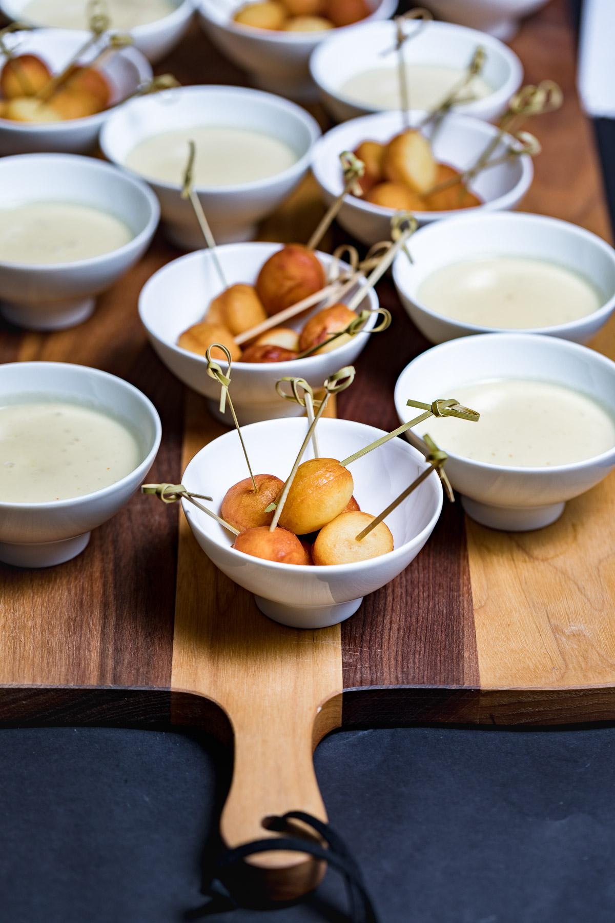 Gericht zum Teilen im Restaurant des Eringer Hotel & Spa im 4-Täler-Gebiet in der Schweiz