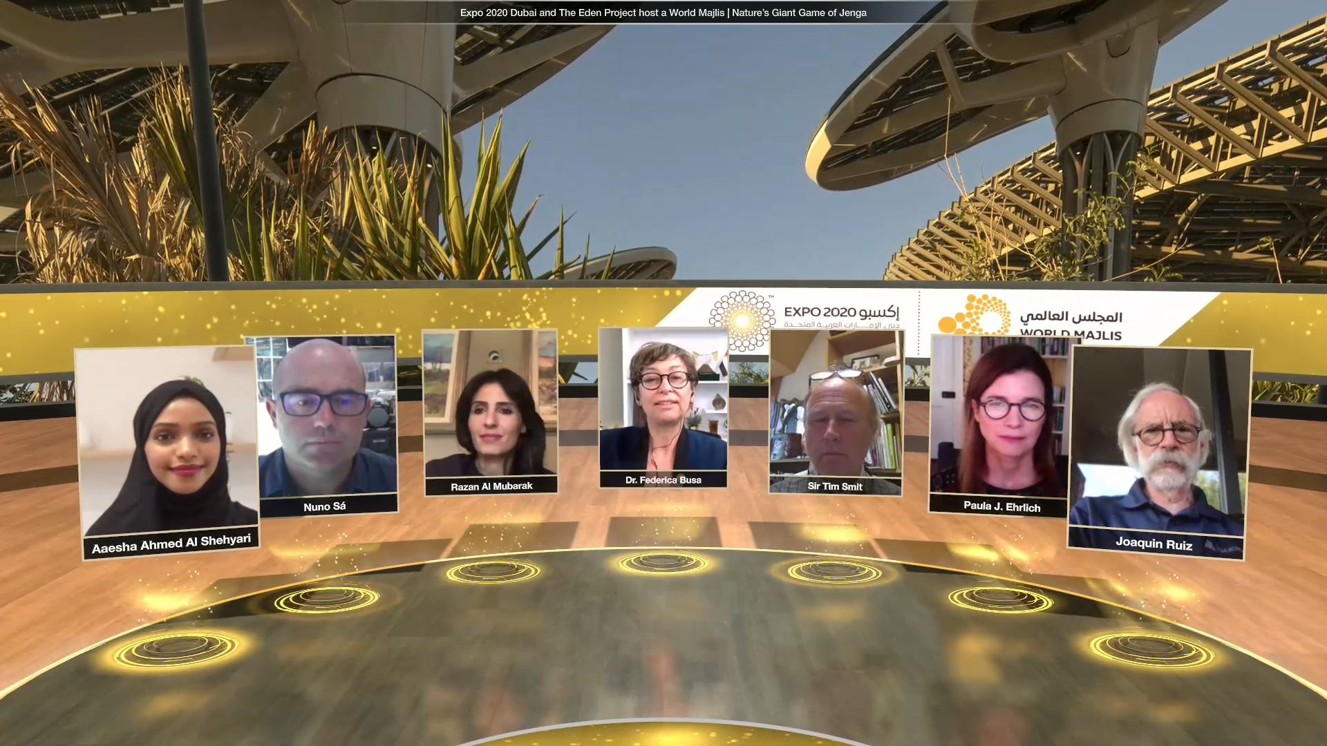 expo 2020 climate and biodiversity week virtual event panel discussion