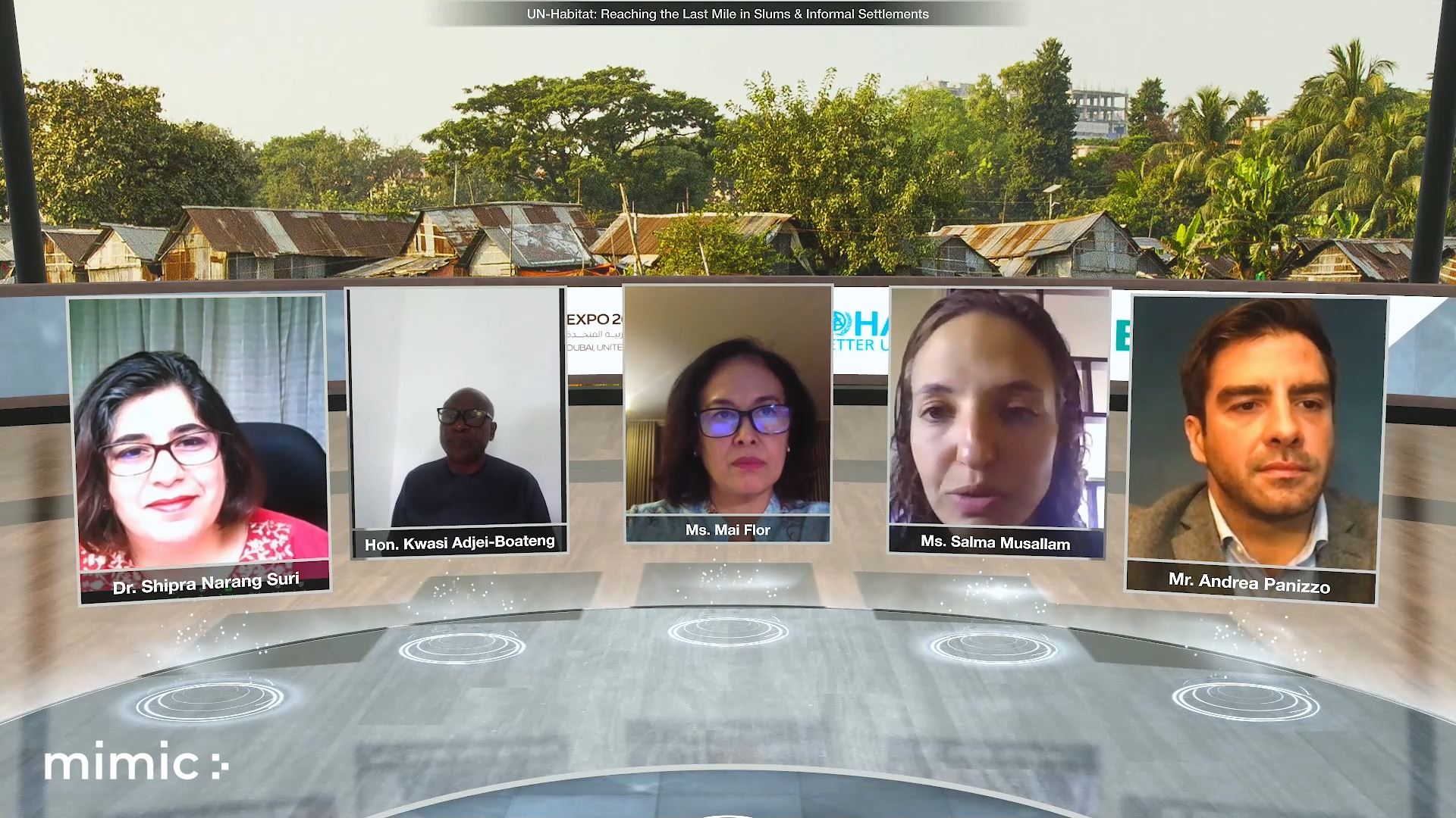 expo 2020 urban and rural development week virtual event panel discussion
