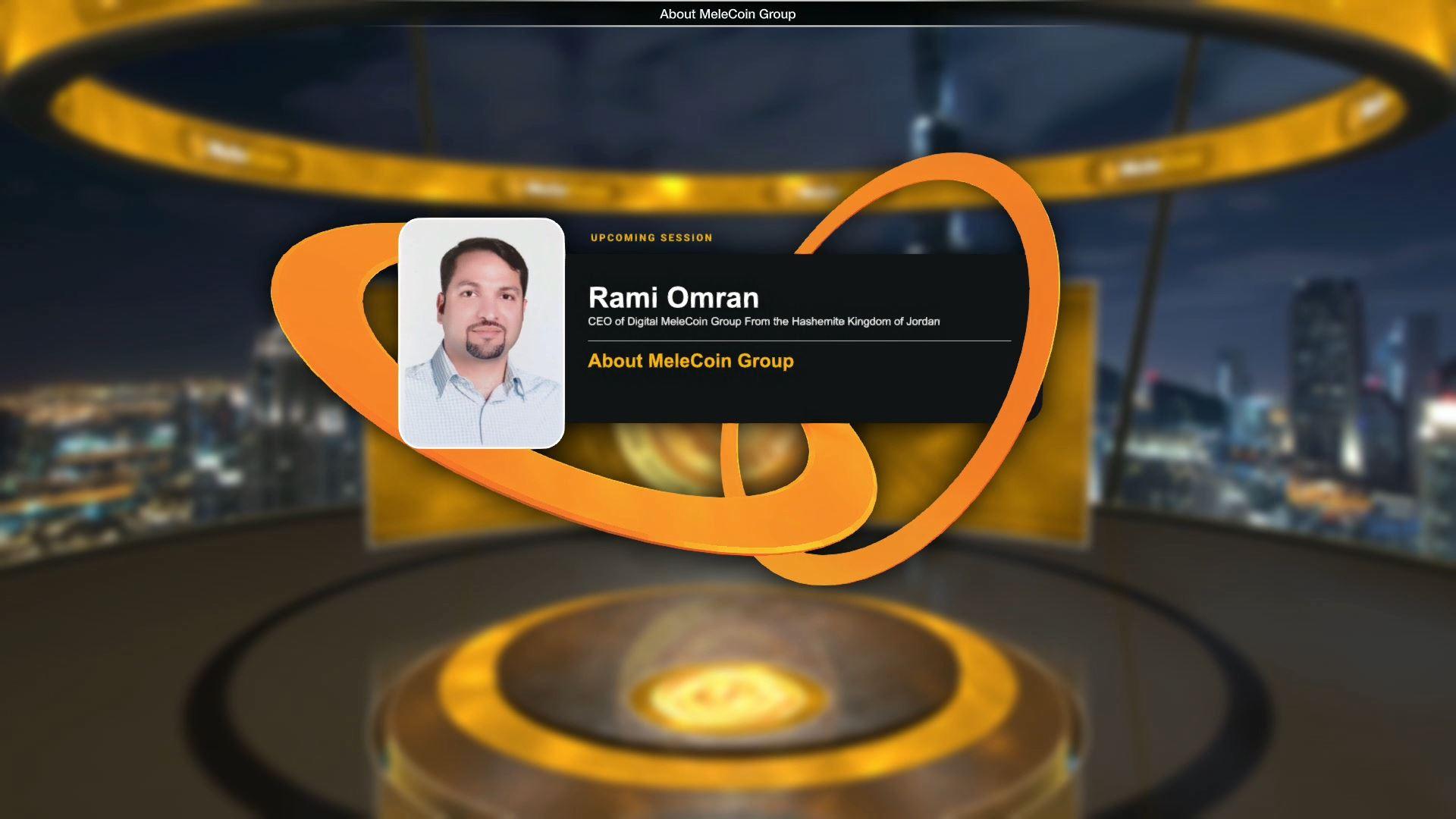 melecoin blockchain technology virtual event speaker profile