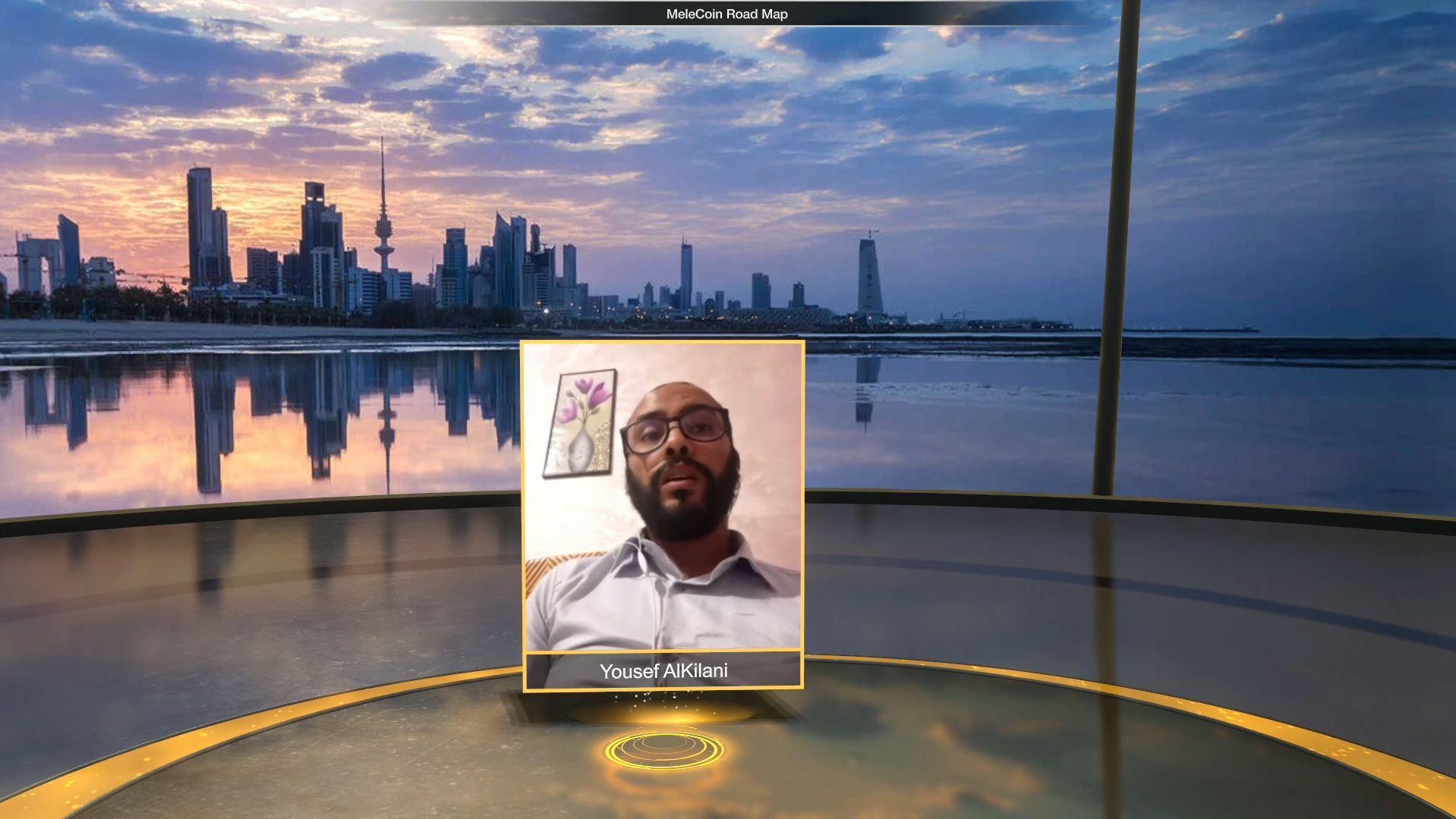 melecoin blockchain technology virtual event virtual speaker