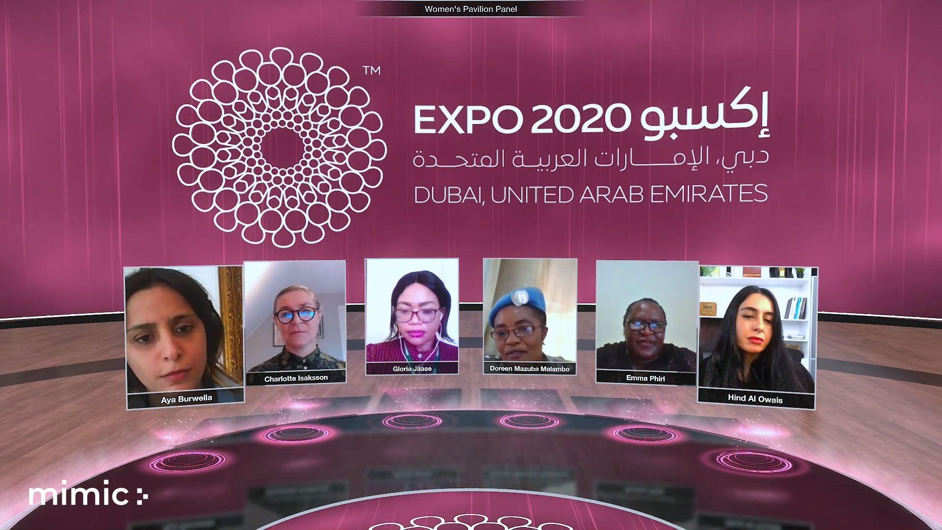 Expo 2020 tolerance and inclusivity Virtual event panel discussion