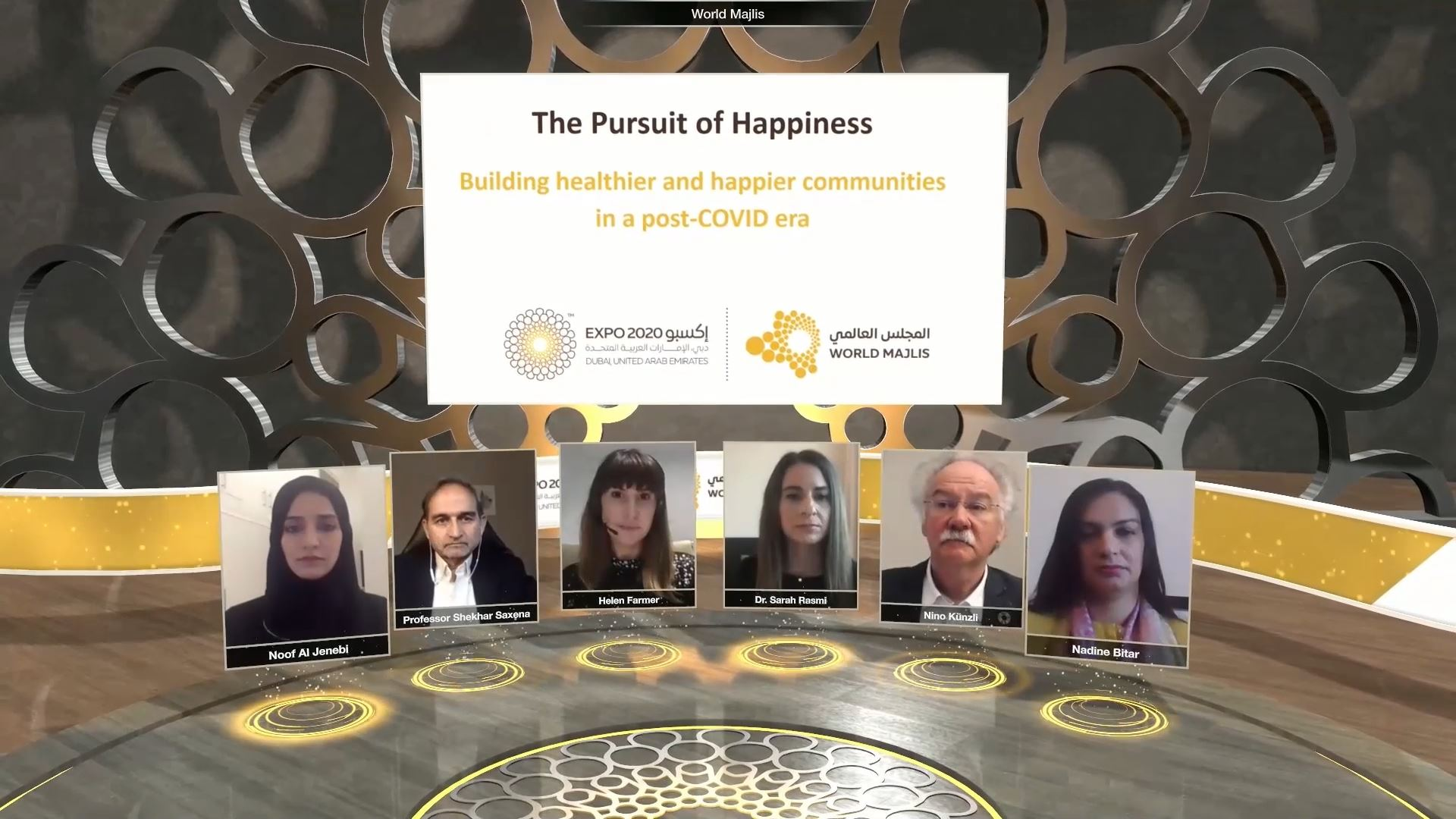 expo 2020 health and wellness week virtual event panel duscussion