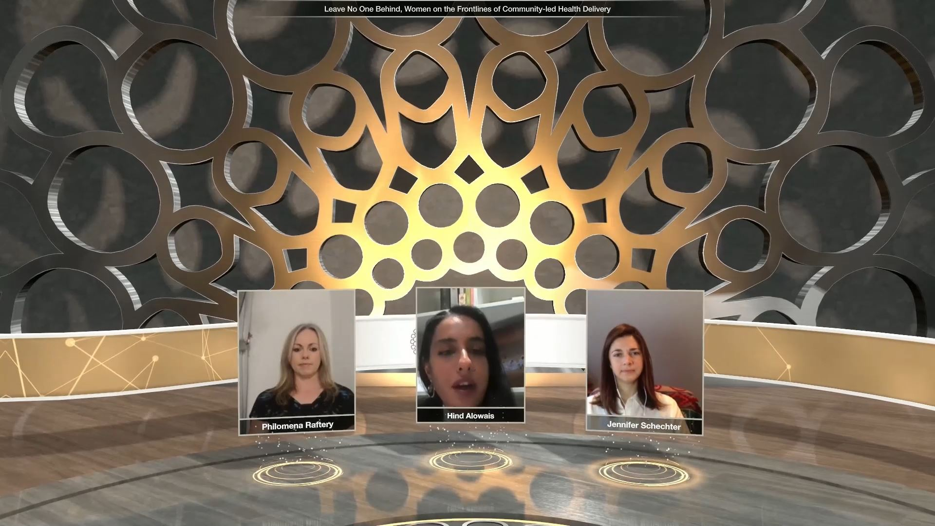 expo 2020 health and wellness week virtual event panel discussion