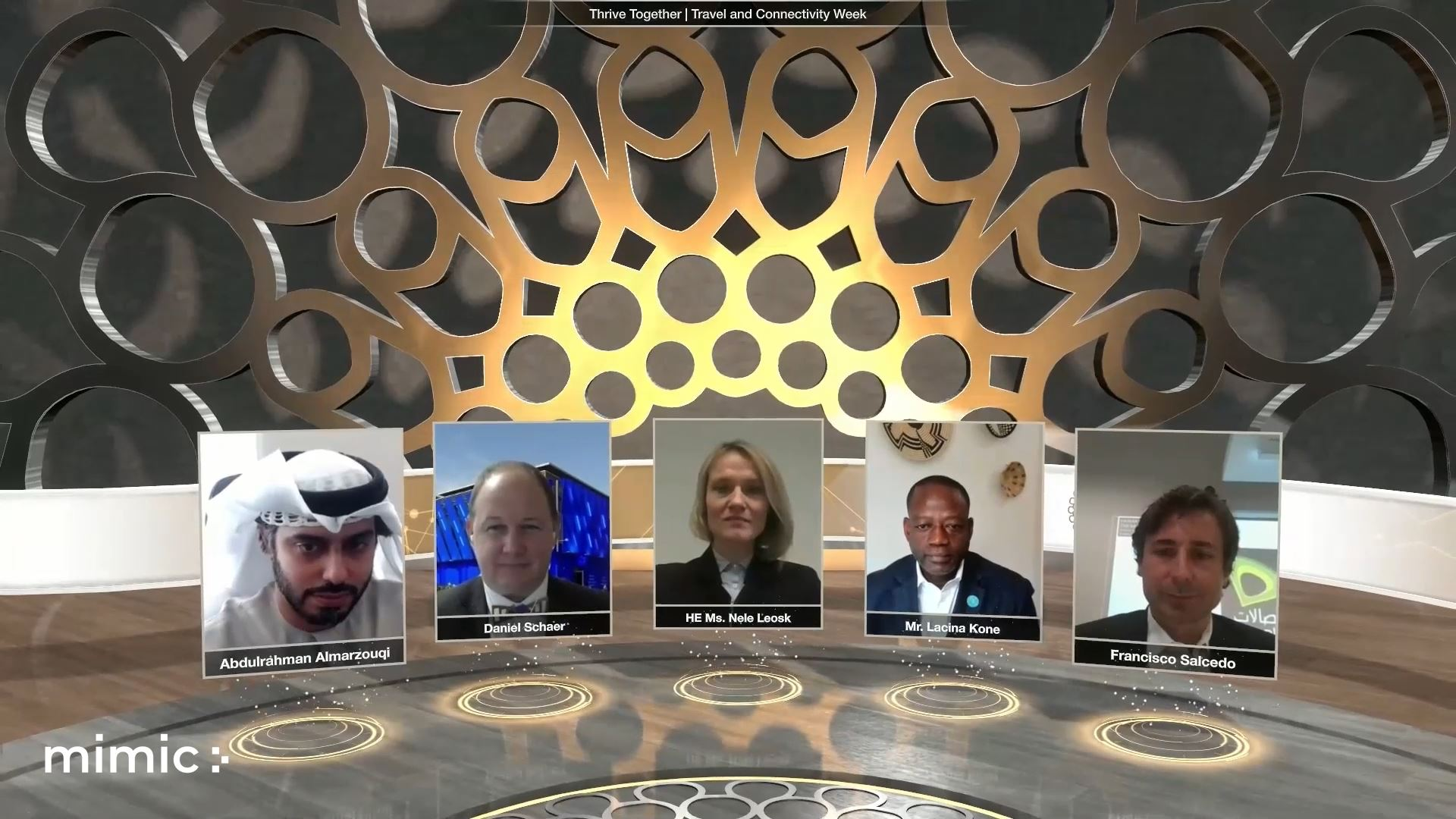 expo 2020 travel and connectivity week virtual event panel discussion