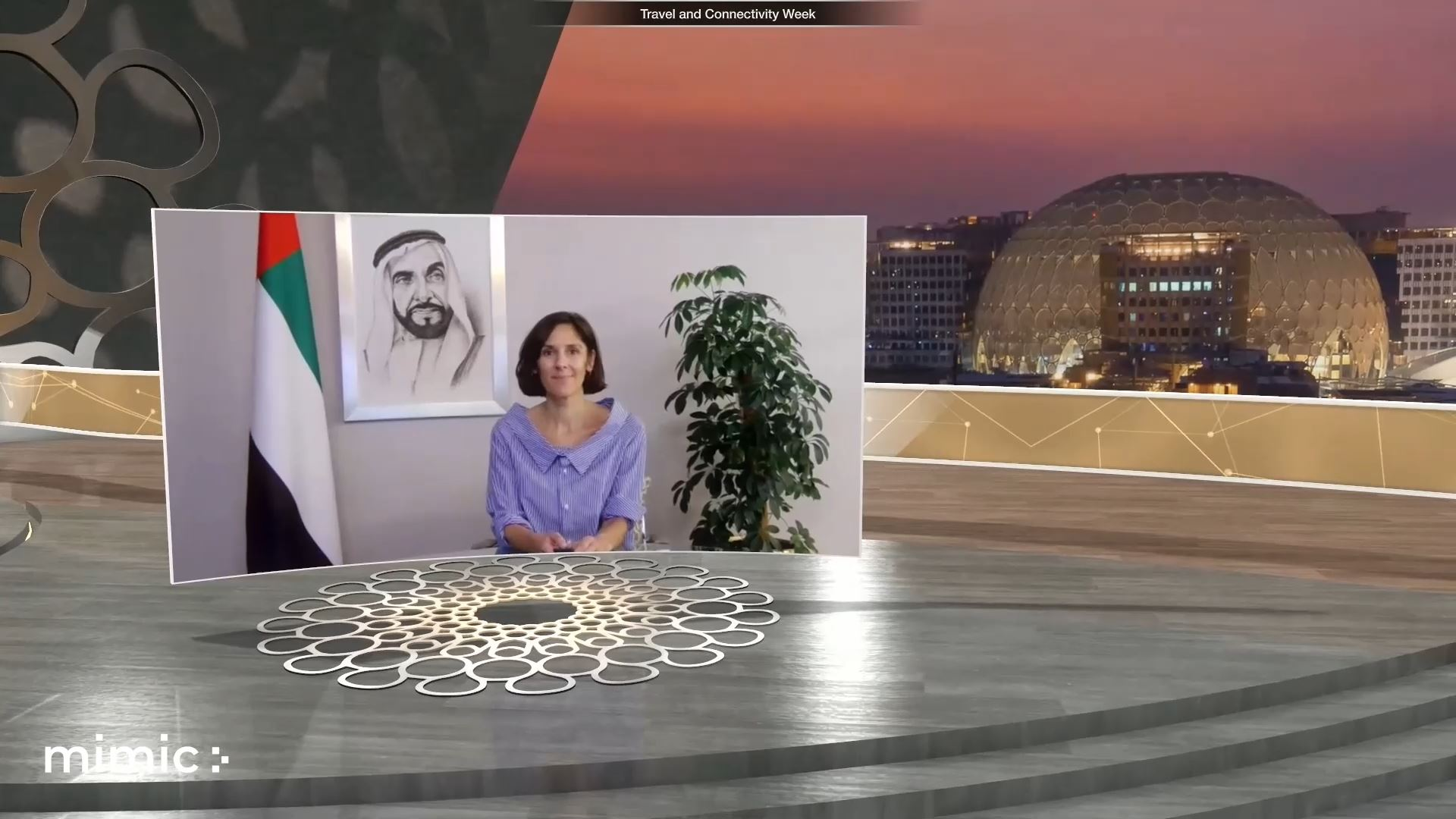 expo 2020 travel and connectivity week virtual event virtual host