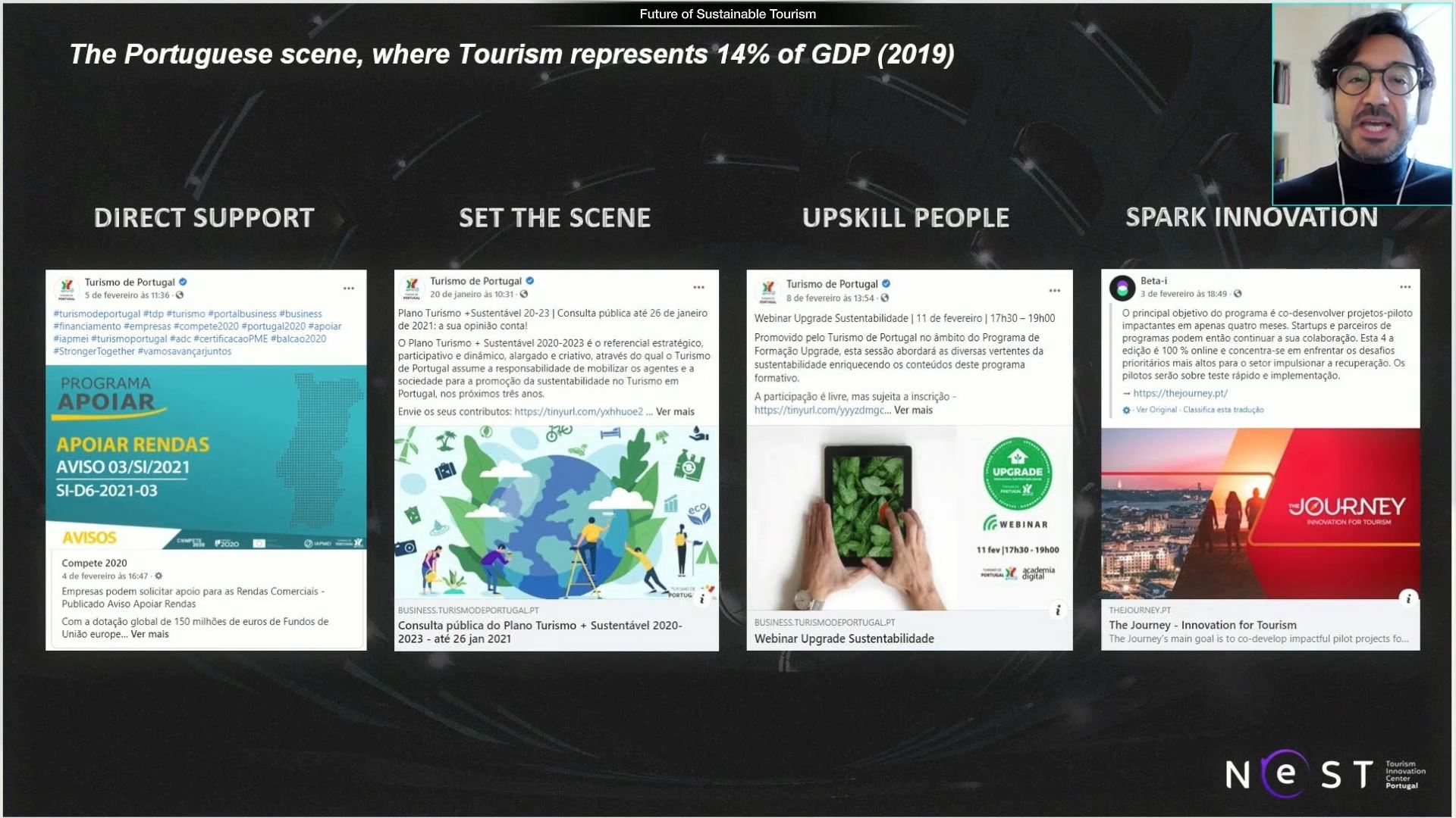 expo 2020 travel and connectivity week virtual event speaker with presentation