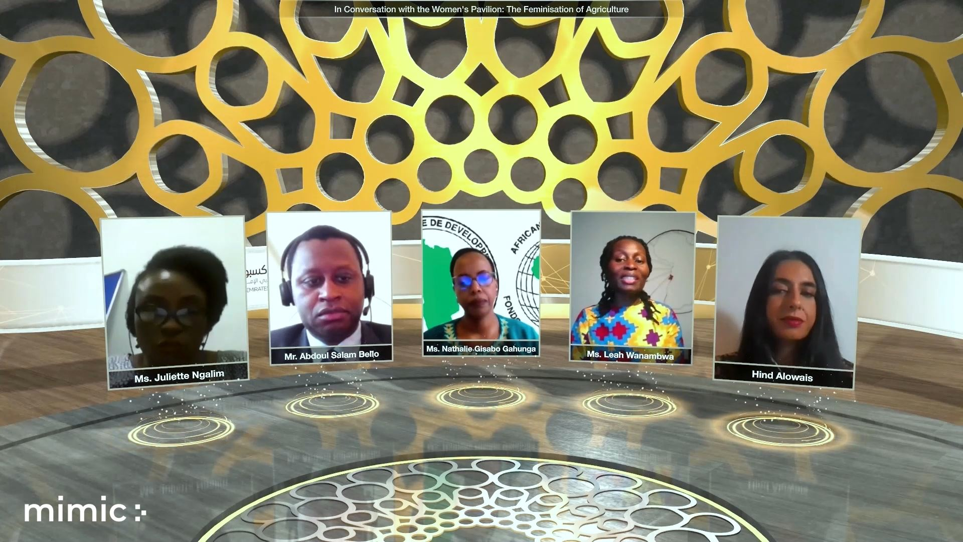 expo 2020 food agriculture livelihoods virtual event panel discussion