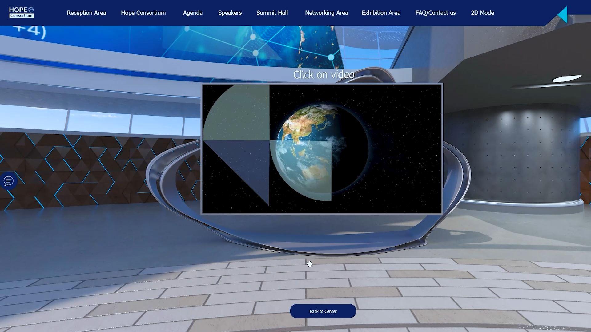 hope consortium world immunization and logistics summit virtual exhibition video screen
