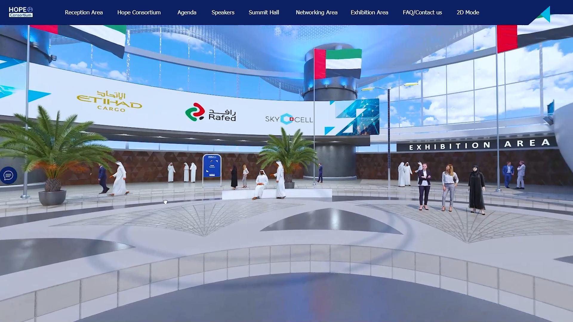 hope consortium world immunization and logistics summit virtual exhibition main hall