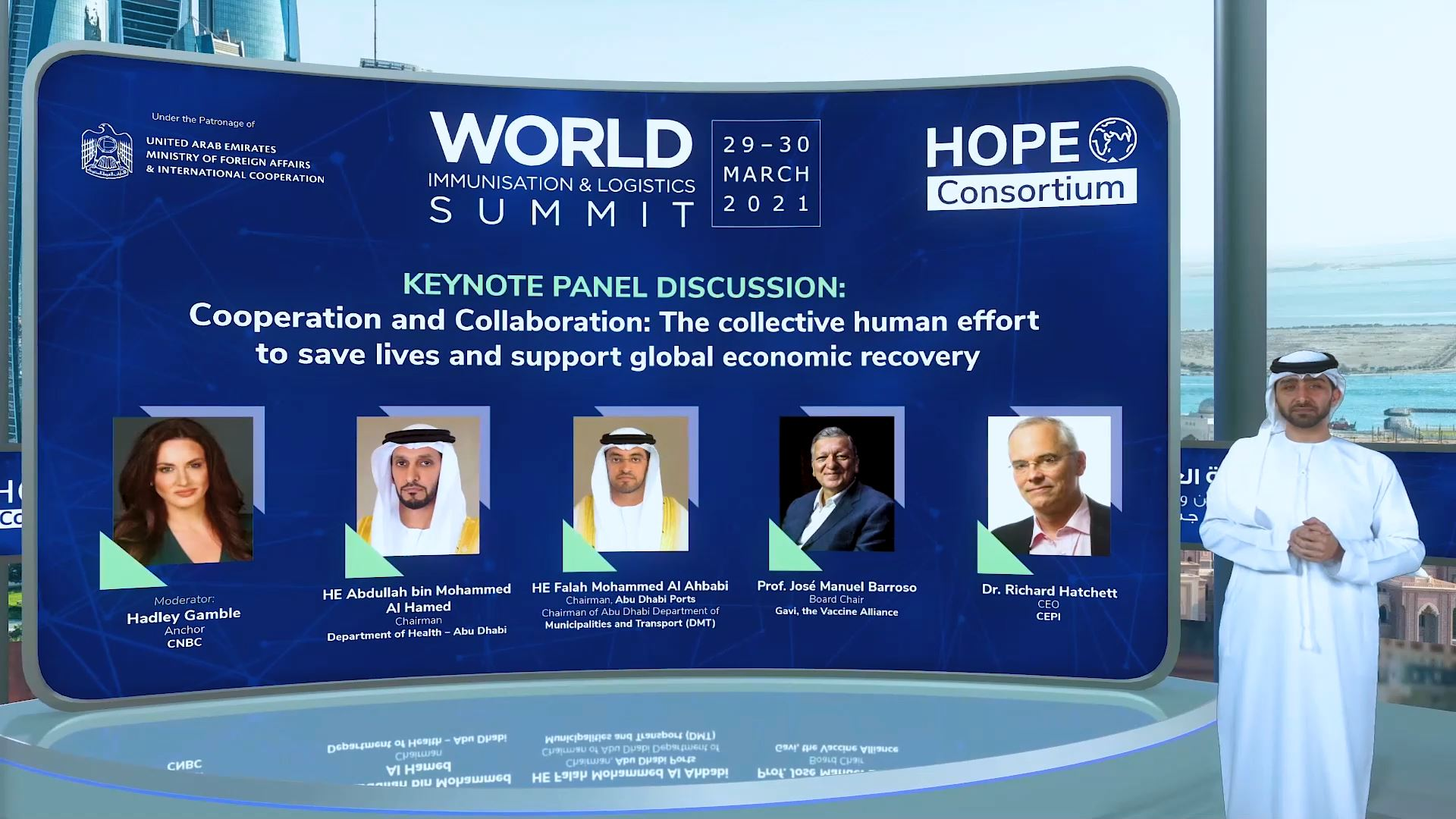 hope consortium world immunization and logistics summit virtual exhibition speaker presentation