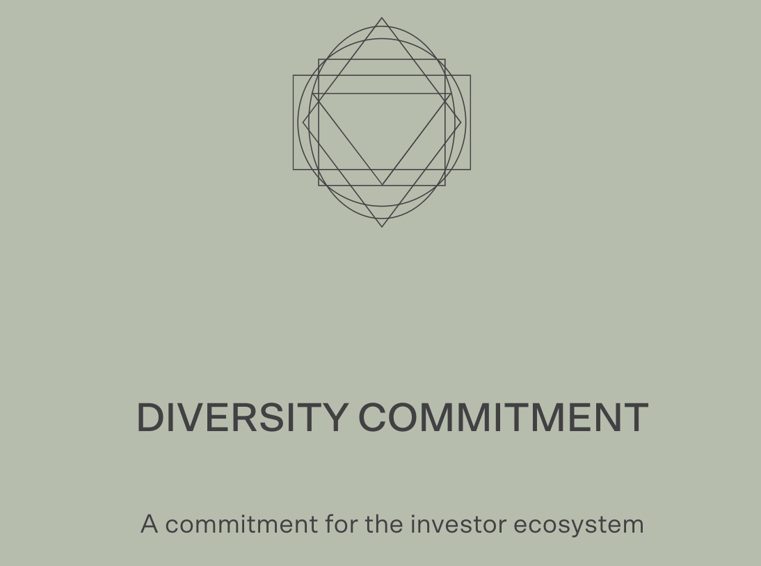 Our Commitment For the Investor Ecosystem to Increase the Diversity in Founders and the Companies We Invest In