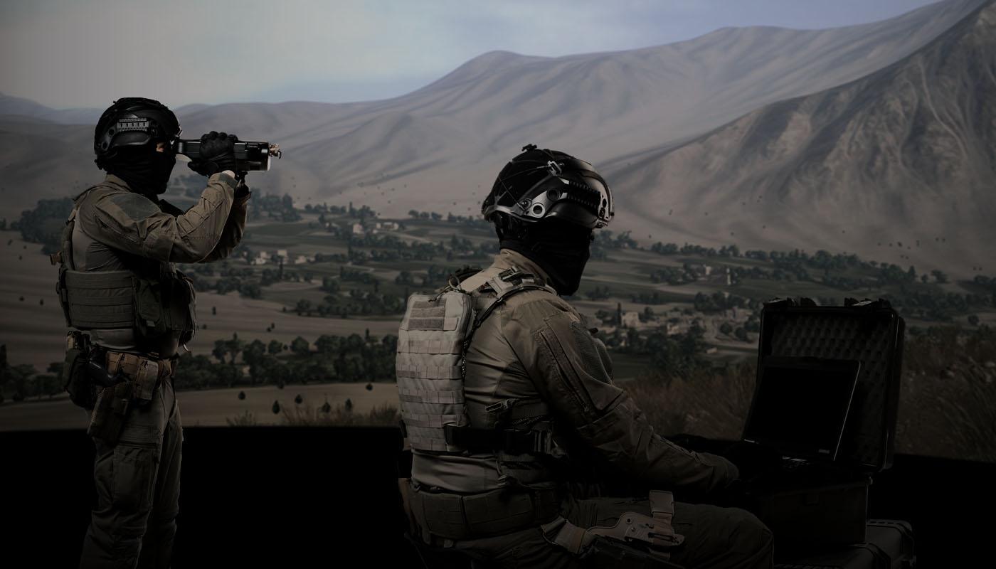AFOT forward observer scenario