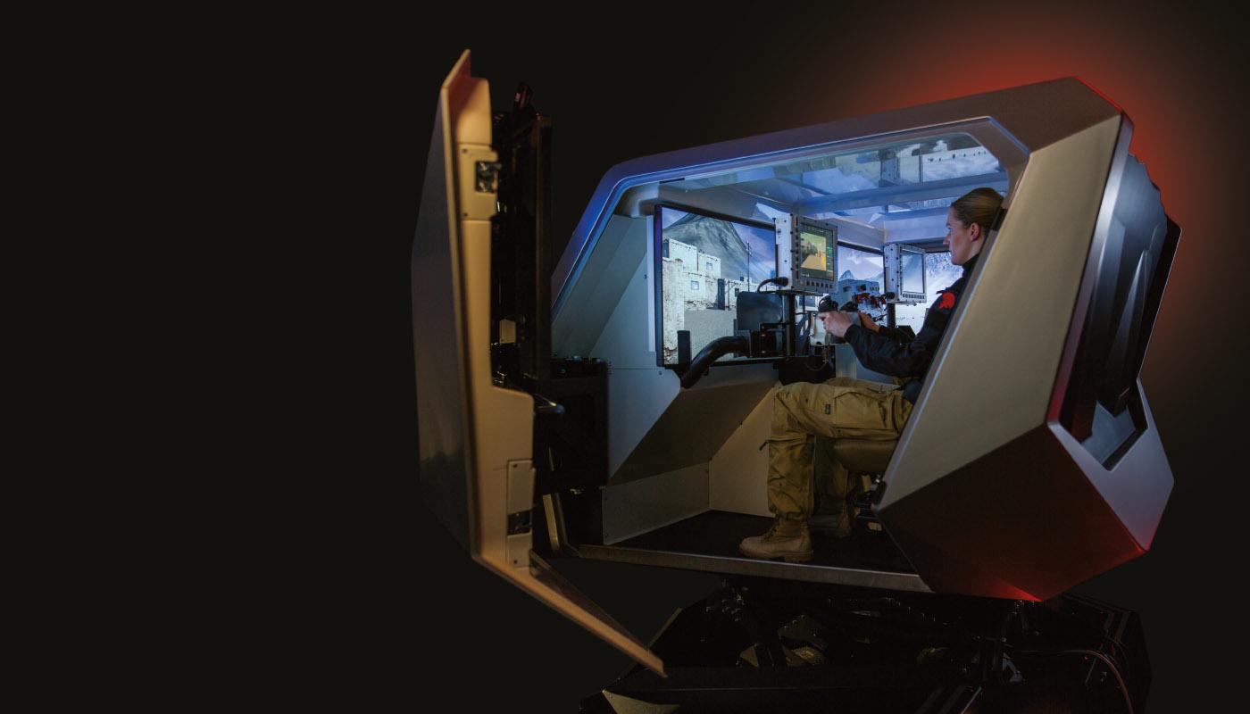 MMVT vehicle trainer inside
