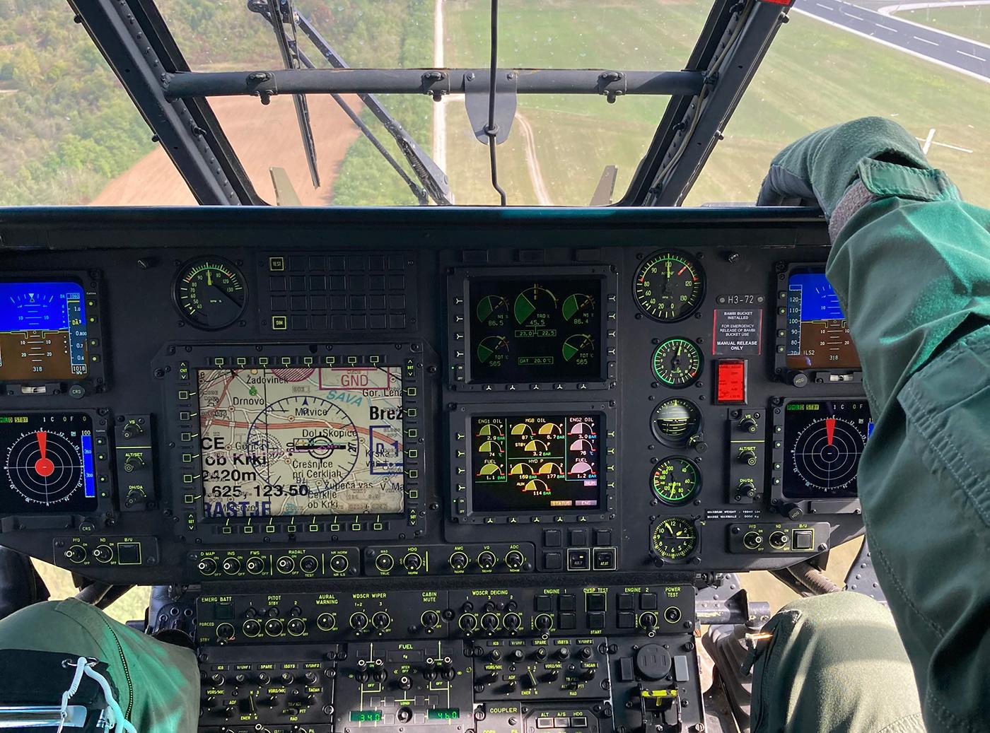 MAAT helicopter radar