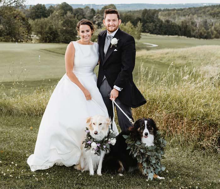 wedding-day-dog-chaperone service somerset