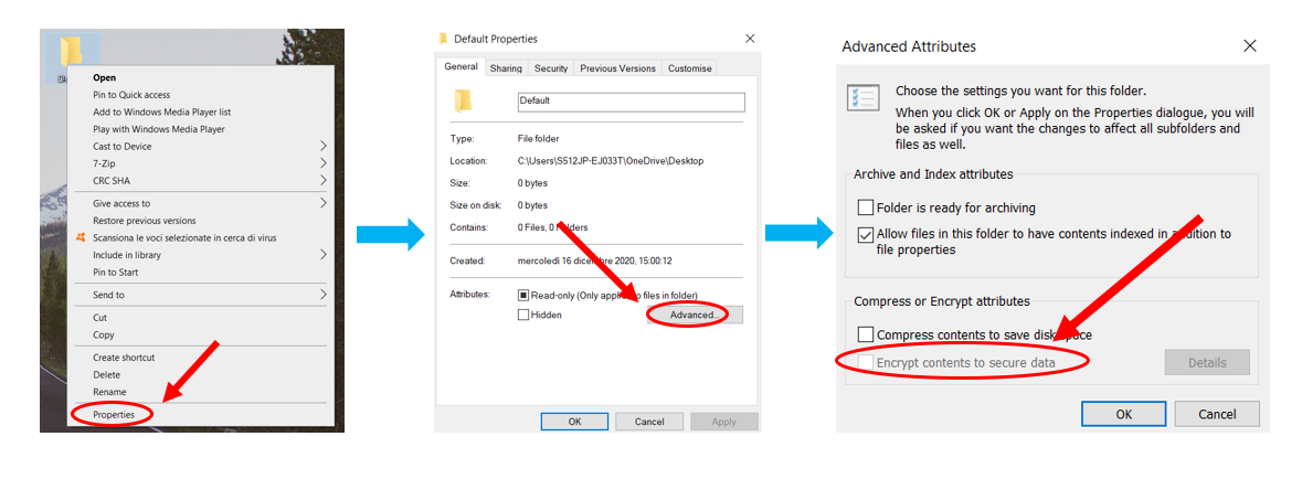 how to share password protected files in windows explanatory in three steps
