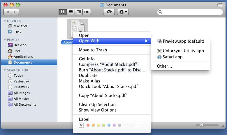 how to encrypt pdfs on mac folder window