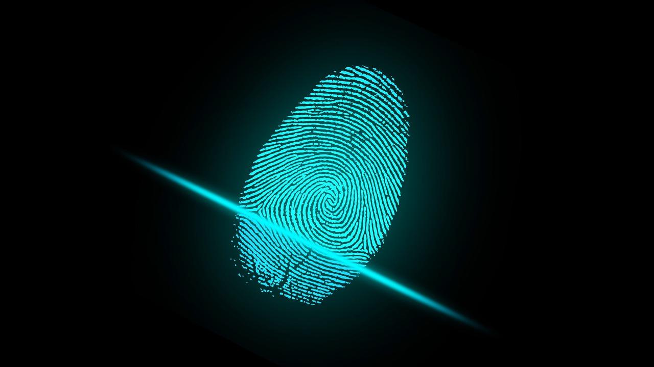 fingerprint with a cut