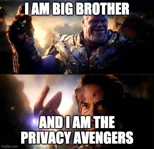 privacy avengers meme