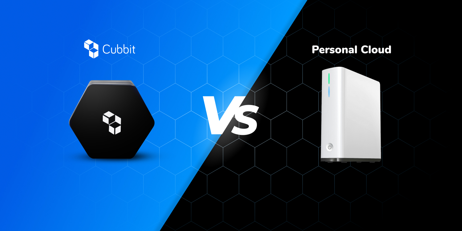 Cubbit as your secure personal cloud storage alternative: 5 reasons why