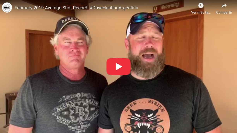 Dove Hunting in Argentina - Sierra Brava Lodge