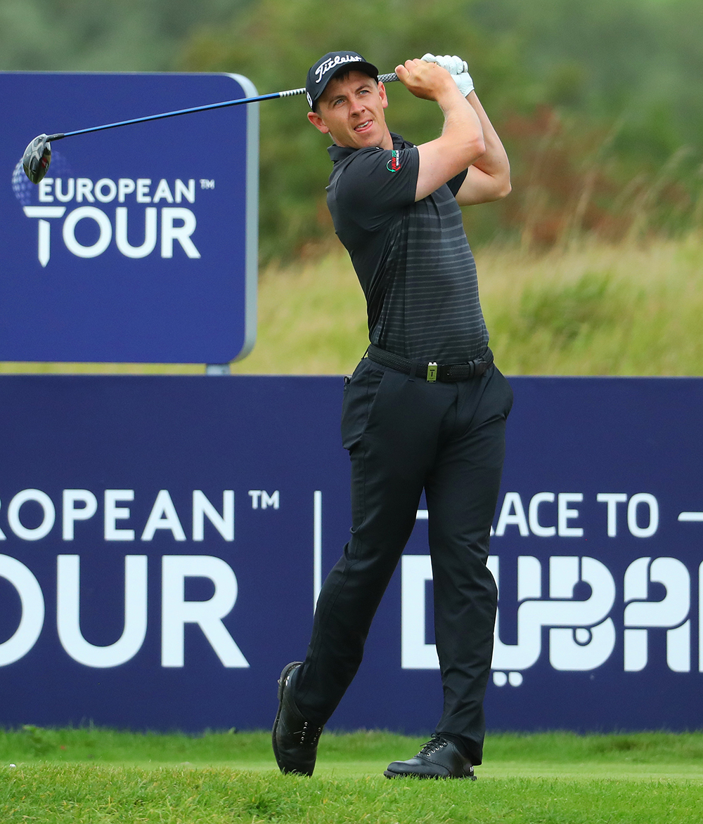 Grant Forrest in action on European Tour