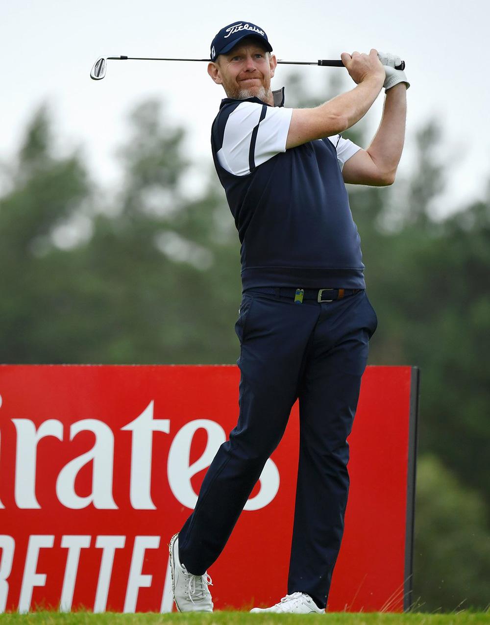 Stephen Gallacher in action on European Tour