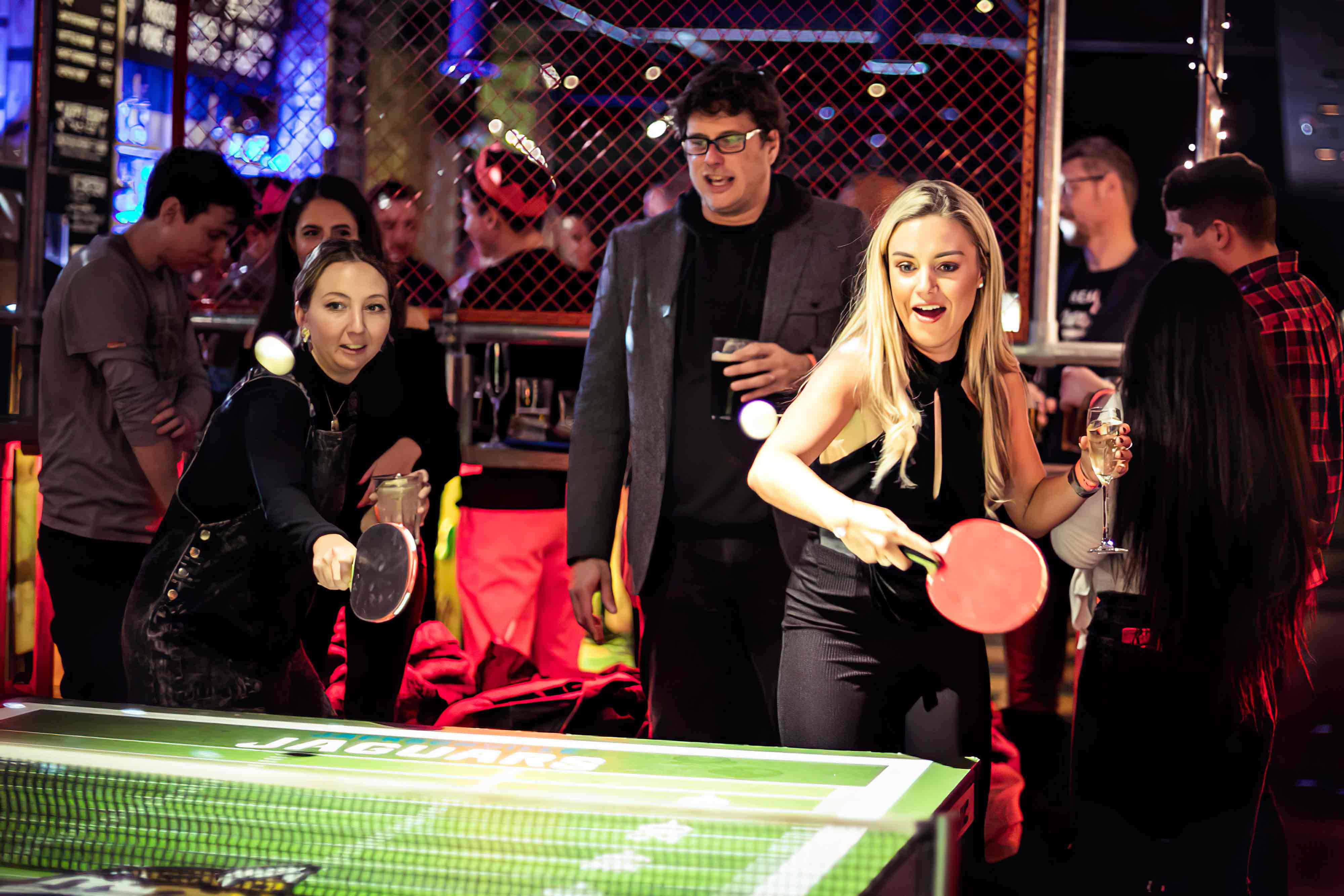 Play table tennis at East London favourite experiences venue.