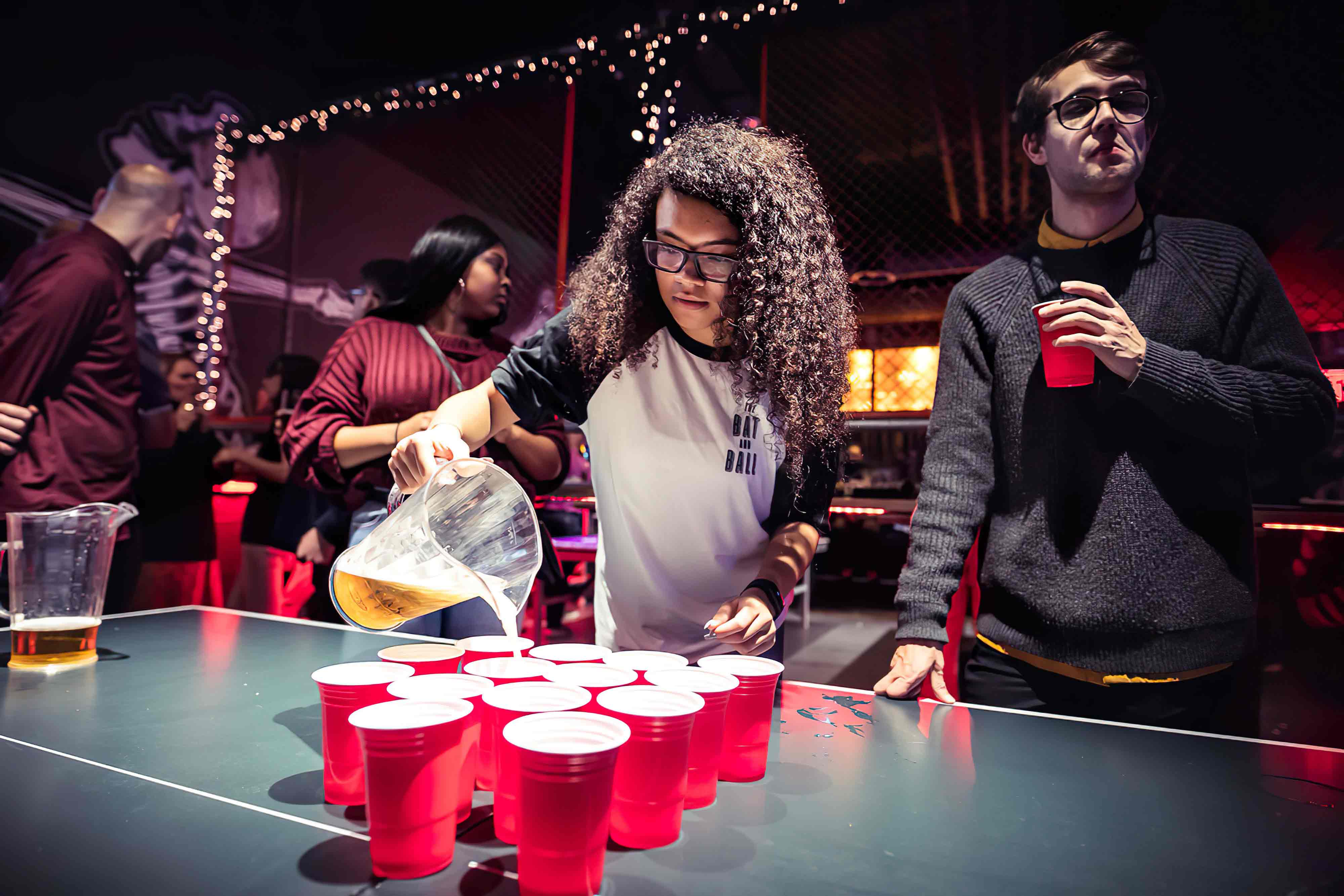 Beer and prosecco pong is how we roll. Get in touch to book.