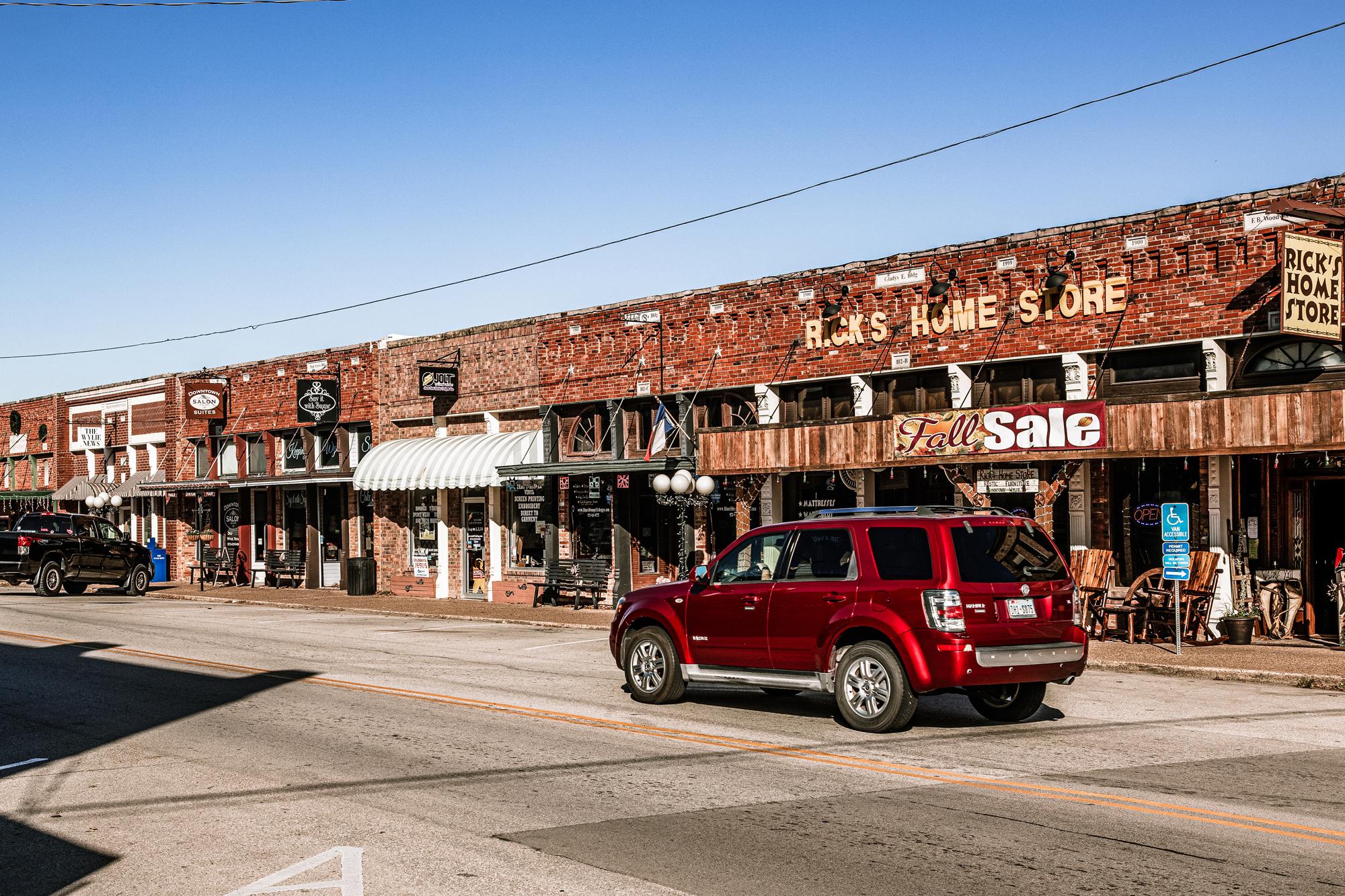 Downtown Wylie, TX
