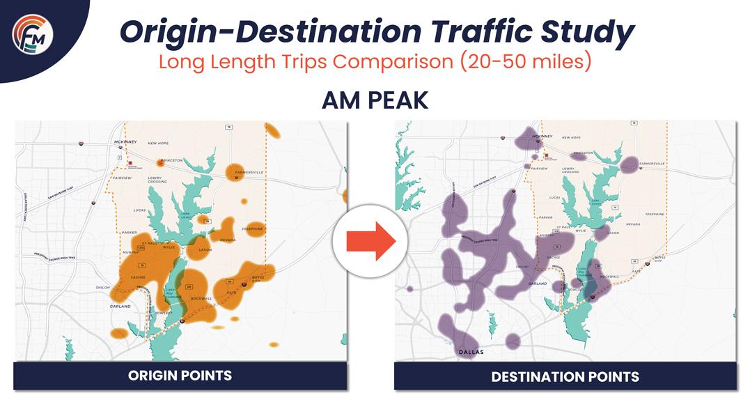 Virtual Meeting Board - Origin Destination Traffic Stud: AM Peak