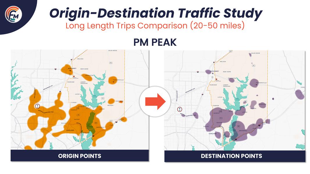 Virtual Meeting Board - Origin Destination Traffic Study: PM Peak