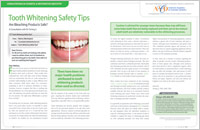 Teeth whitening safety