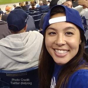 Baseball Fan Smiling