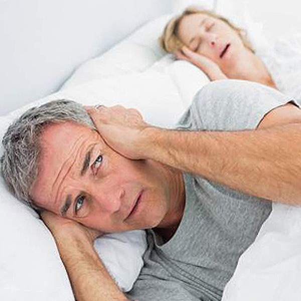 Spouse Snoring in Bed