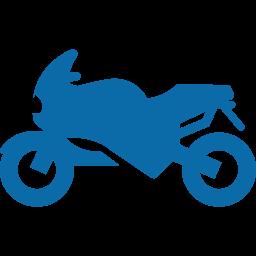 Plaque d'immatriculation homologuée pour moto