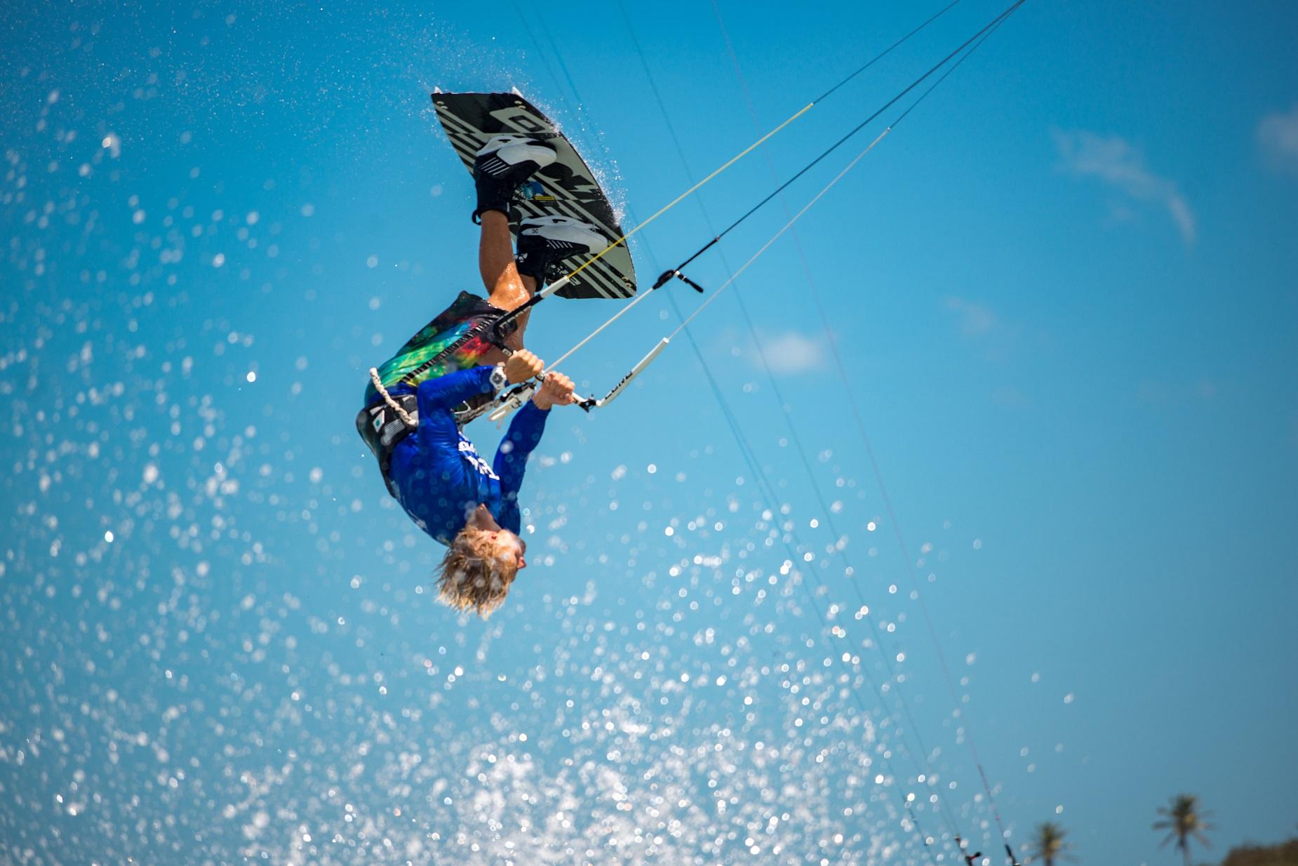 Lius Erdmann - Freestyle Kiteboard