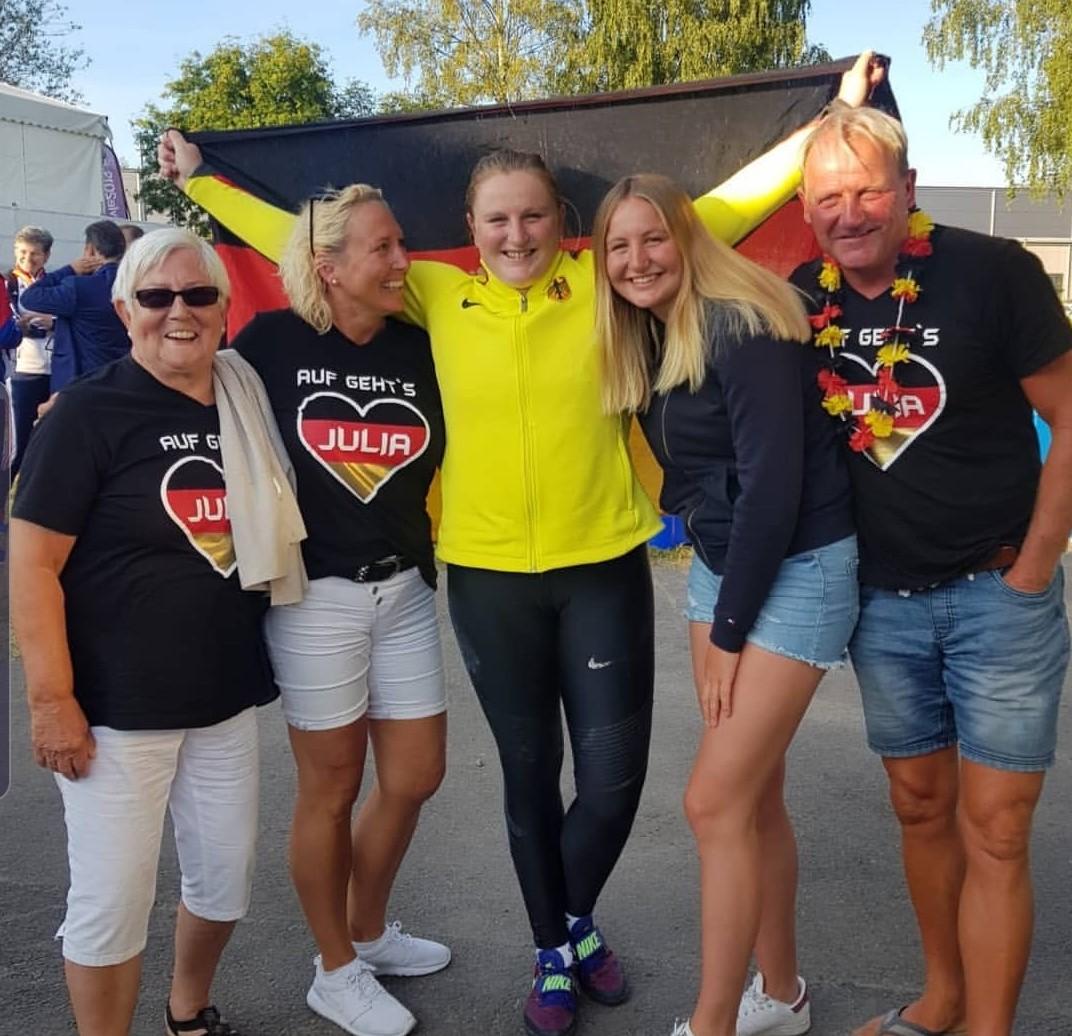 Julia Ritter - Europameisterschaften 2019