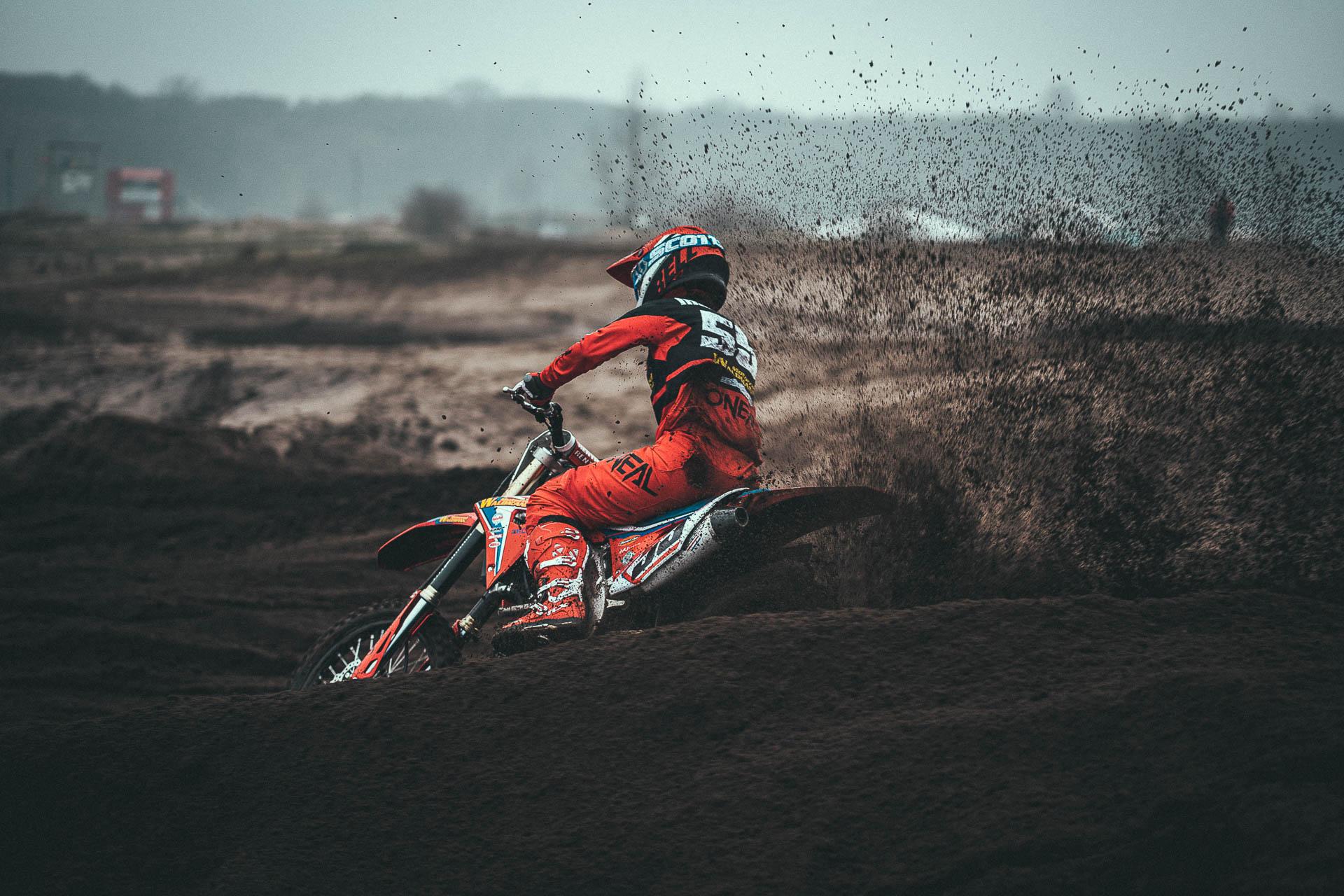 Kim Irmgartz Motocross-Bike