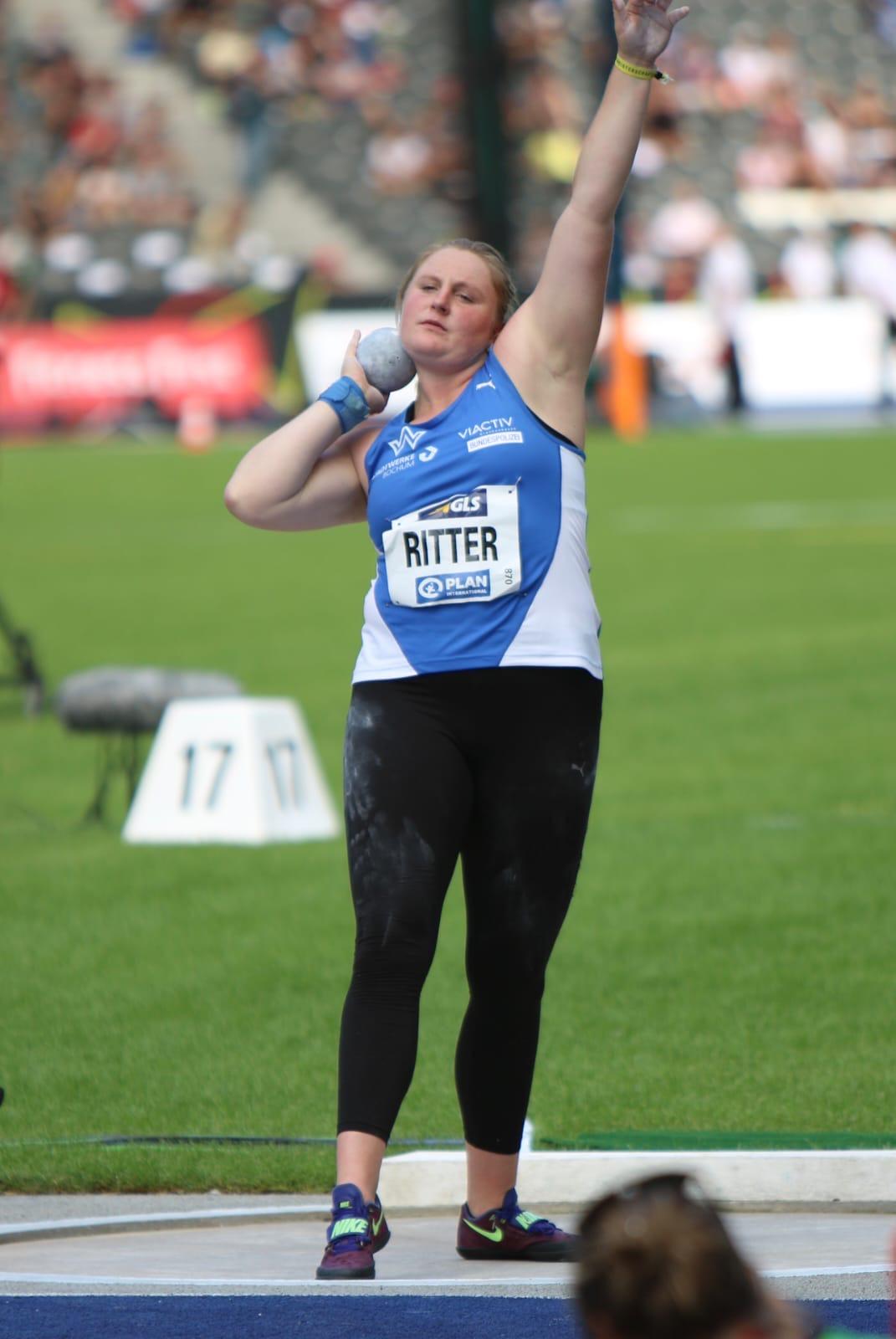 Julia Ritter -  trainiert für Olympia 2024