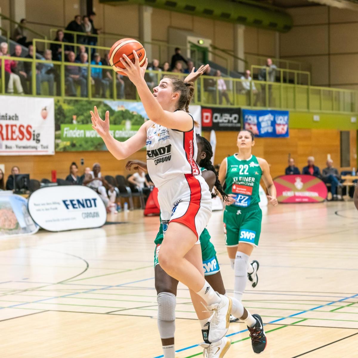 Luisa Geiselsöder- Basketball Nationalmannschaft