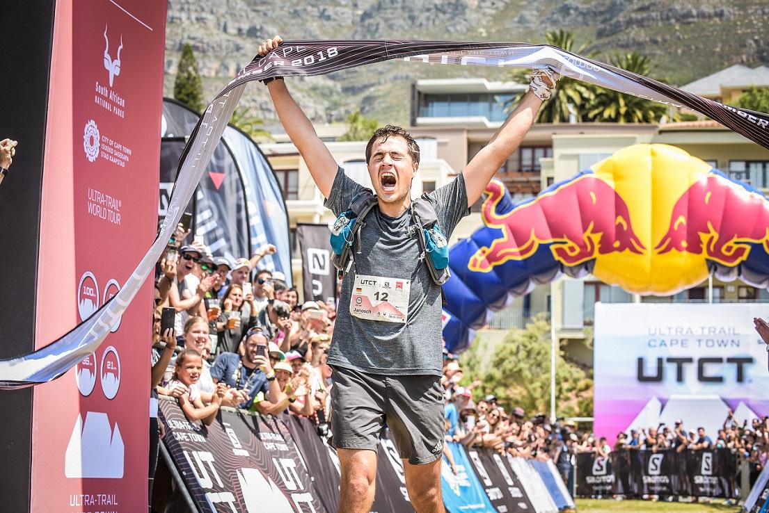 Janosch bei seinem Sieg in Kapstadt / Quelle: Janosch Kowalczyk - UTCT - slam_clark