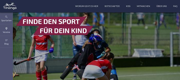 Die online-Plattform Tinongo soll Eltern und Kinder bei der Wahl der richtigen Sportart unterstützen.