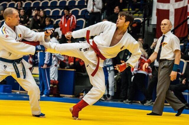 Roman zu seiner aktiven Zeit als Ju-Jutsu Athlet. /Quelle: DJJV