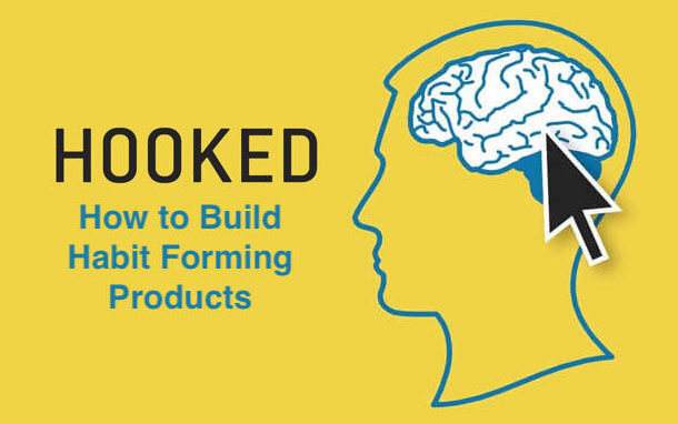the banner of the book hooked: how to build habit forming products