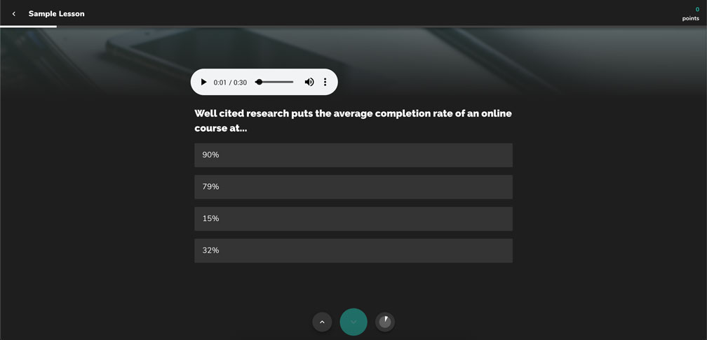 ConveYour User Portal with audio recording